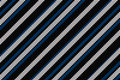 Cool linear pattern in black blue and white digitally generated Royalty Free Stock Photos
