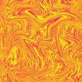 Cool liquid marble background. The combination of red and yellow. texture like orange juice, fresh to look at. Liquid digital