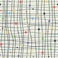 Cool mesh seamless pattern.