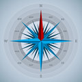 Cool 32 point compass design Royalty Free Stock Photo