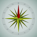 Cool 16 point compass design Royalty Free Stock Photo