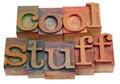 Cool stuff Stock Image
