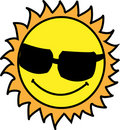 Cool Sun Stock Photography