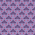 Cool violet checked vector pattern illustration Royalty Free Stock Photo