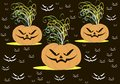 Cool wallpaper on the day of halloween vector Stock Photography