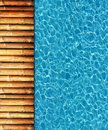 Cool water in swimming pool Stock Images