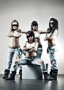 Cool women workers Royalty Free Stock Photo