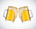 Coold beers cold design vector illustration eps graphic Royalty Free Stock Photos