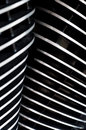 Cooling fins v twin motorcycle engine stainless steel black detail Royalty Free Stock Images