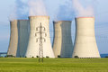 Cooling towers Royalty Free Stock Photo
