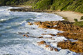 Coolum sunshine coast queensland australia small cove at Stock Photos