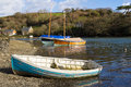 Coombe Cornwall Stock Photo