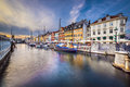 Copenhagen Canal Royalty Free Stock Photo