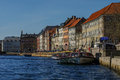 Copenhagen, Denmark - 30 april 2011: Spring view of the Old Town Royalty Free Stock Photo