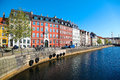 Copenhagen denmark in the center of Royalty Free Stock Photo