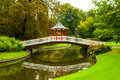 Copenhagen denmark frederiksberg park the in Stock Photography