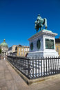 Copenhagen denmark historical square in Royalty Free Stock Photo