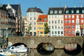 Copenhagen houses Royalty Free Stock Images