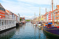 Copenhagen, Nyhavn Royalty Free Stock Photo