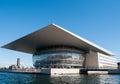 Copenhagen opera the house in denmark Royalty Free Stock Photos