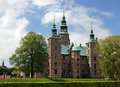 Copenhagen rosenborg castle view of the which is a renaissance at the royal garden in the center of denmark Stock Photos