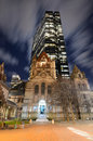 Copley Square in Boston Stock Images