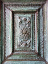 Copper bas-relief Royalty Free Stock Photo