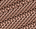 Copper metal bands Royalty Free Stock Photo