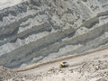 Copper mine in Chile Royalty Free Stock Photo