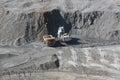 Copper-molybdenum mine 3 Royalty Free Stock Photo