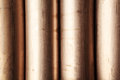 Copper nickel alloy pipe nickle on the oil industry Royalty Free Stock Images