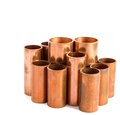 Copper pipe for use produce the air conditioner Stock Photography