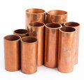 Copper pipe for use produce the air conditioner Stock Photo