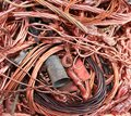 Copper scrap Royalty Free Stock Photo