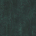 Copper seamless texture with swirls pattern on a oxide metallic background