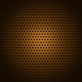 Copper square pattern texture or background Royalty Free Stock Image