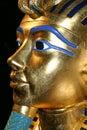 Copy of the death mask of Tutankhamen Royalty Free Stock Photo
