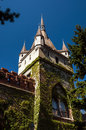 Copy of historical castle in budapest hungary agricultural exibition Stock Photos