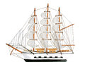 Copy of an old sailing ship Stock Images