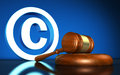 Copyright Laws Symbol Concept Royalty Free Stock Photo