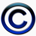Copyright sign Stock Photo