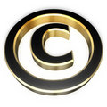 Copyright sign Stock Image