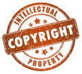 Copyright stamp Royalty Free Stock Photography