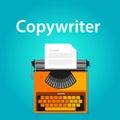 Copywriter jobs typing machine typewriter office working vacancy