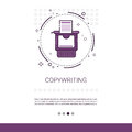 Copywriting Freelance Occupation Content Marketing Web Banner With Copy Space