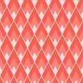 Abstract geometric seamless tile pattern with acute angled lozenged repeat