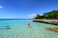 Coral beaches in Cuba Royalty Free Stock Photo