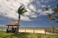 Coral Coast beach hut Royalty Free Stock Photo
