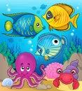 Coral fauna theme image 2 Royalty Free Stock Photo