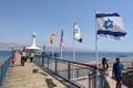 Coral World Underwater Observatory aquarium in Eilat Israel Royalty Free Stock Photo